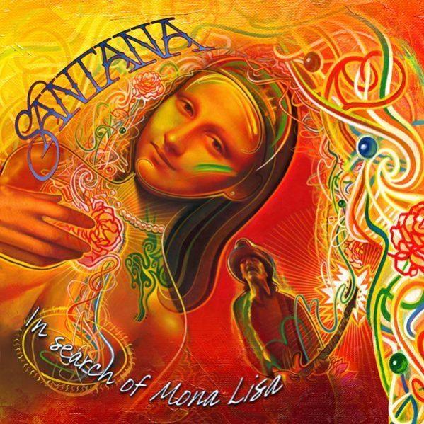 "copertina EP ""In Search Of Mona Lisa"" Carlos Santana"