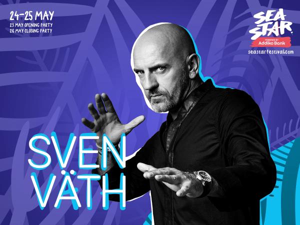 Sven Vath dla vivo il 24 e 25 maggio al Sea Star Festival