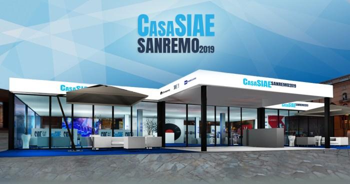 Dal 5 al 9 febbraio torna Casa SIAE a Sanremo
