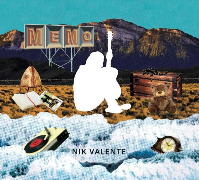 """copertina """"MeMo"""" album Nik Valente"""