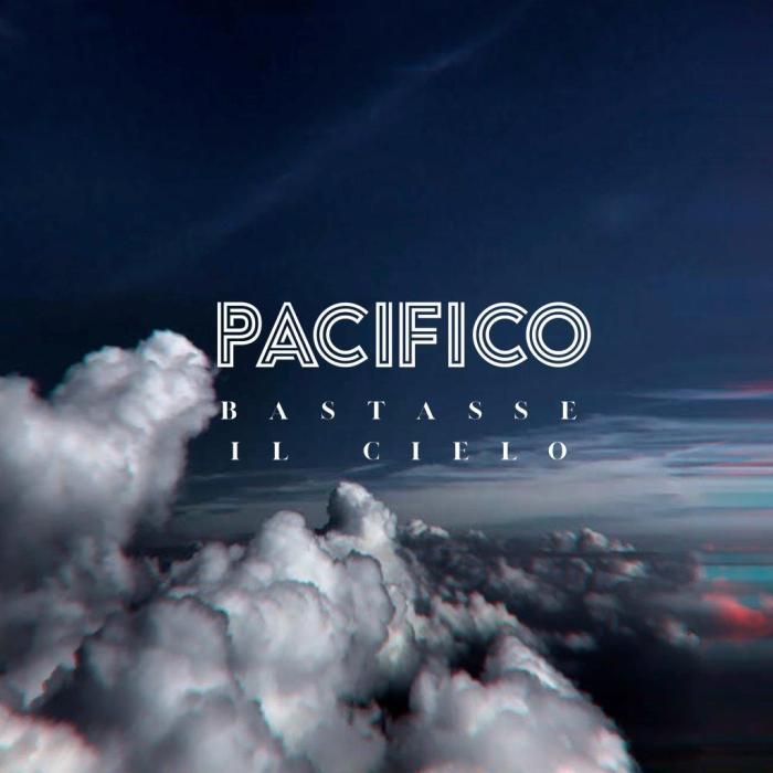 """copertina album """"Bastasse Il Cielo"""" Pacifico"""