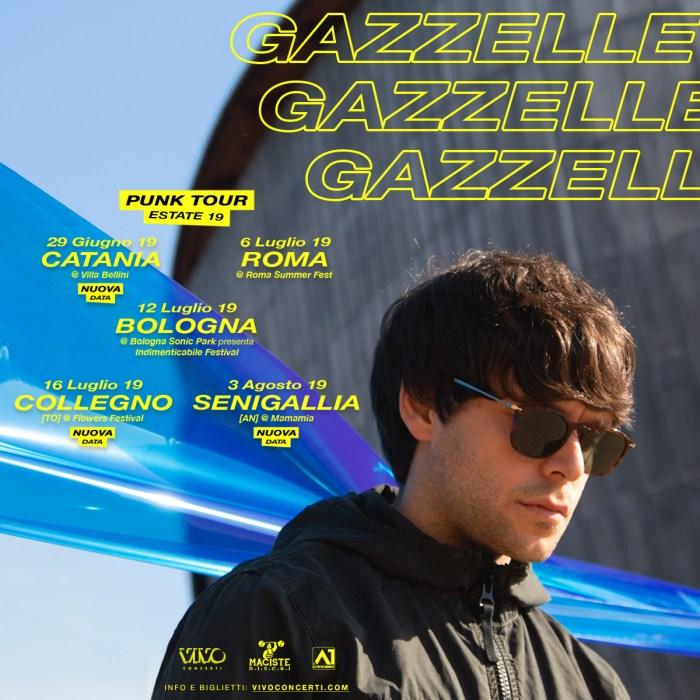 Gazzelle nuove date il 29 giugno a Catania e il 16 luglio al Flowers Festival