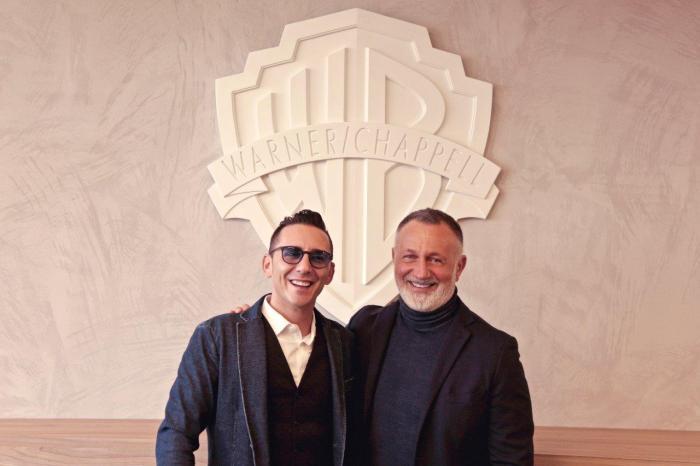 Warner Chappell annuncia la firma dell'accordo editoriale con Kekko Silvestre dei Modà