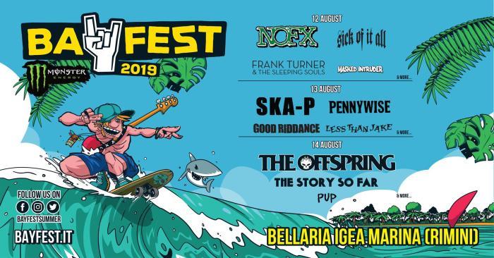 Ska-P e Pennywise si aggiungono alla lineup del Bay fest 2019
