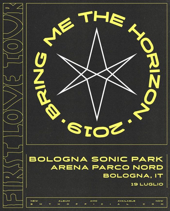 Il 19 luglio al Bologna Sonic Park arrivano i Bring Me The Horizon
