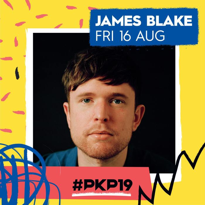 James Blake nella lineup del Pukkelpop 2019 venerdì 16 agosto