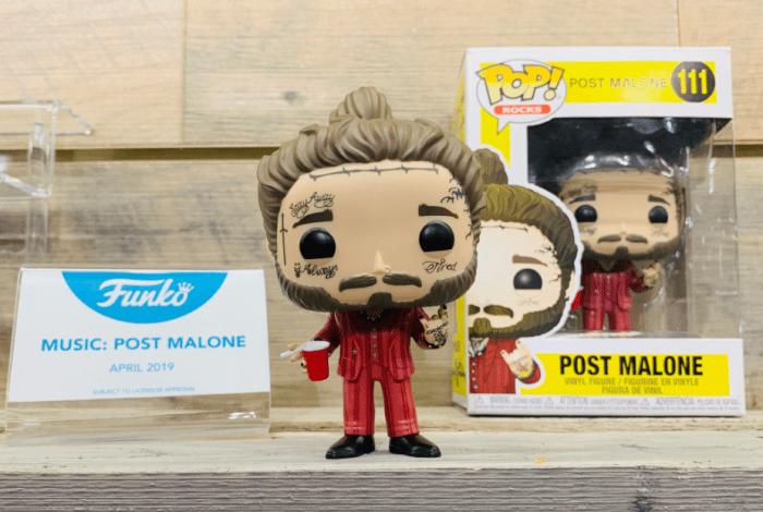 Post Malone è una bambola Funko Pop! ordinabile dal 9 maggio