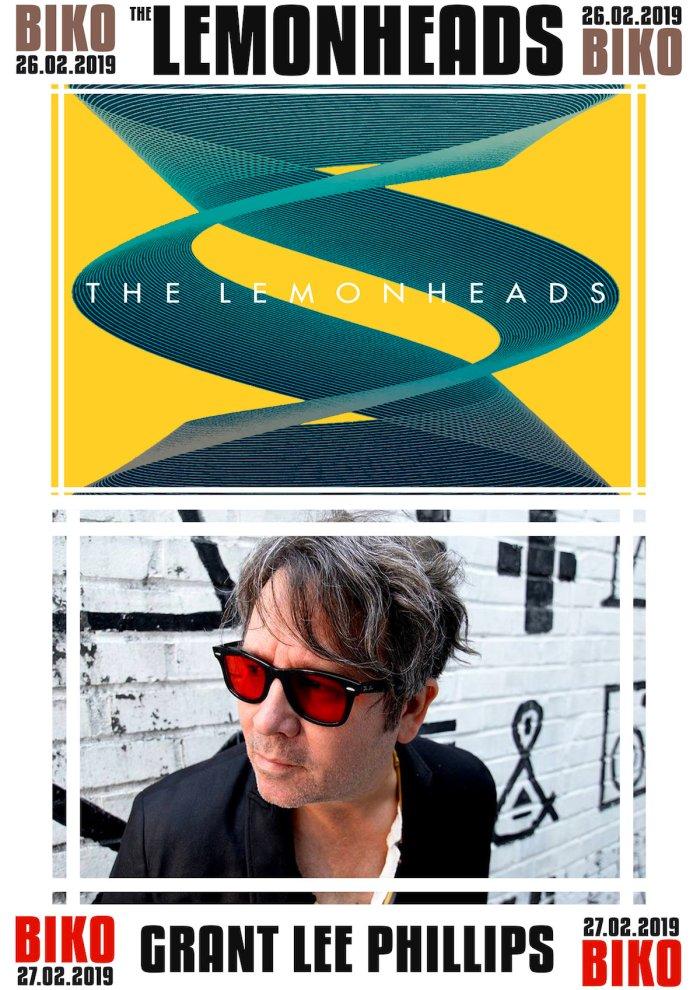 Grant Lee Phillips e The Lemonheads in concerto al Biko di Milano i 26 e 27 febbraio