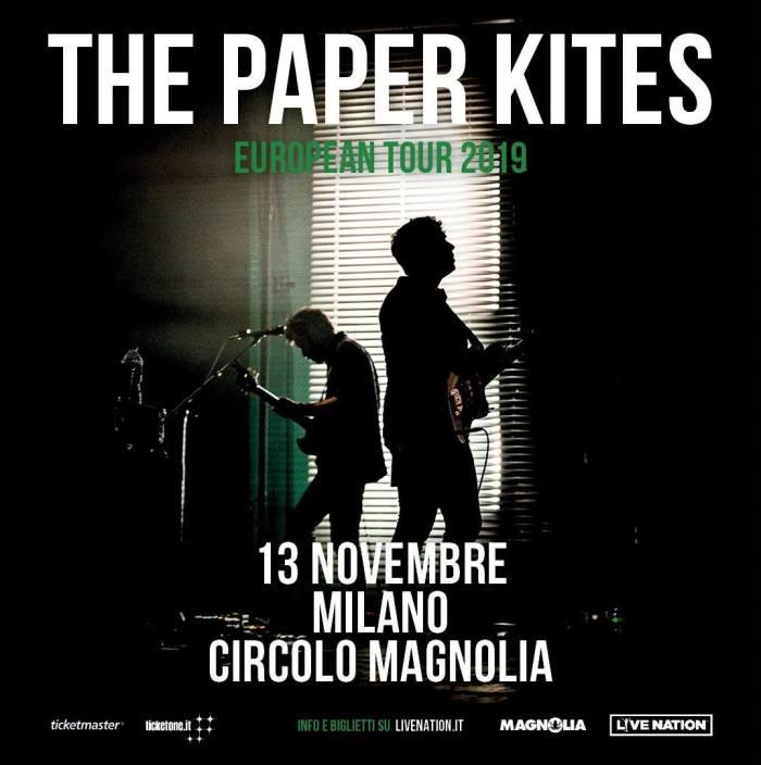 The Paper Kites in concerto il 13 novembre al Circolo Magnolia di Milano