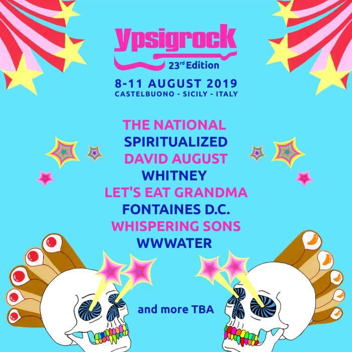 Whitney nella lineup di Ypsigrock 2019
