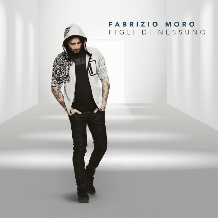 """Copertina album """"Figli Di Nessuno"""" Fabrizio Moro"""
