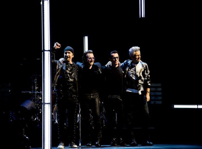 """Gli U2 pubblicheranno in primavera il doppio album dal vivo con canzoni da """"Songs Of Innocence"""" e """"Songs Of Experience"""""""