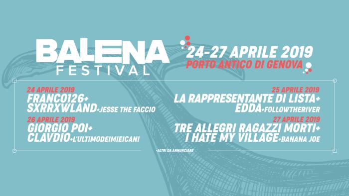Programma Balena Festival 2019