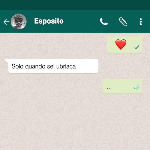 """Solo Quando Sei Ubriaca"" copertina singolo Esposito"