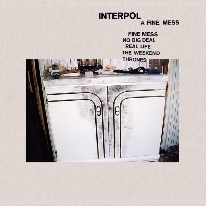 "Interpol copertina EP ""A Fine Mess"""