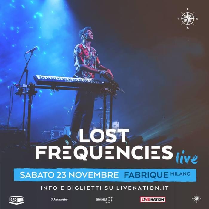 Lost Frequencies in concerto il 23 novembre al Fabrique di Milano