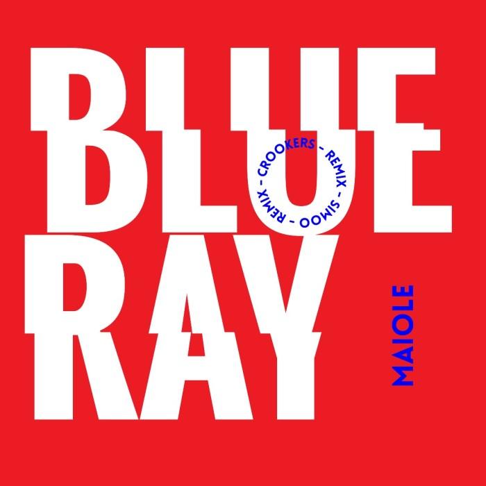"copertina EP ""Blue Ray"" Maiole"