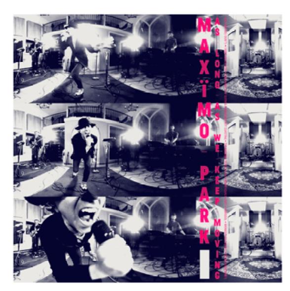 "Maximo Park album ""As Long As Wee Keep Moving"" copertina"