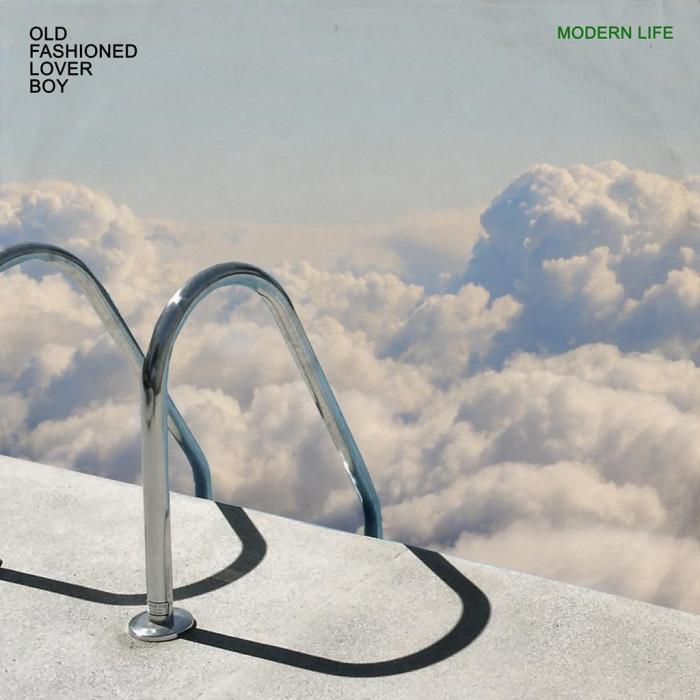 """copertina singolo """"Modern Life"""" di Old Fashioned Lover Boy"""