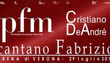 PFM e Cristiano De André dal vivo il 29 luglio all'Arena di Verona