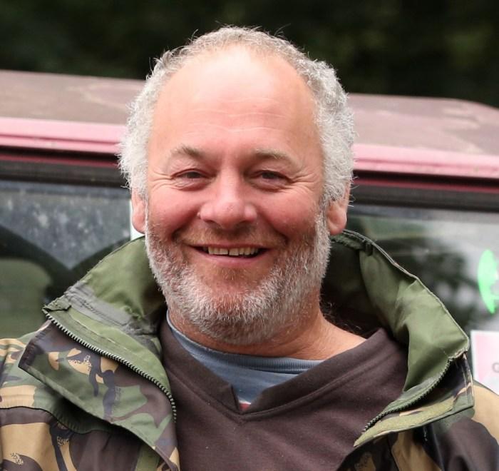 Robert Kearl, Manager di Waste and Farm Infrastructure, per il riciclaggio a Glastonbury