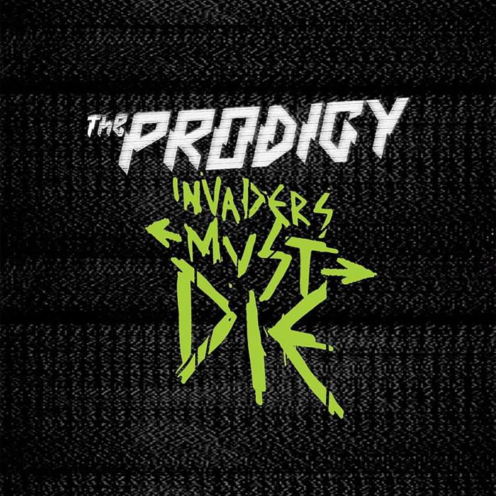 """Invaders Must Die"" copertina album The Prodigy"