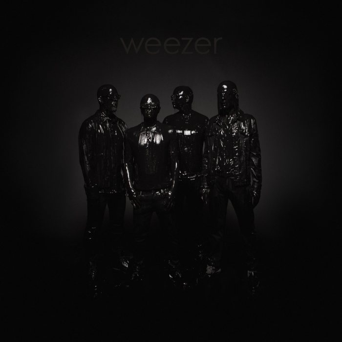 "copertina ""The Black Album"" Weezer"