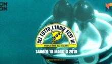 Sei Tutto L'Indie Fest il 18 maggio al Monk di Roma con Scarda, La Municipàl, Auroro Borealo, Adelasia, Ukulele