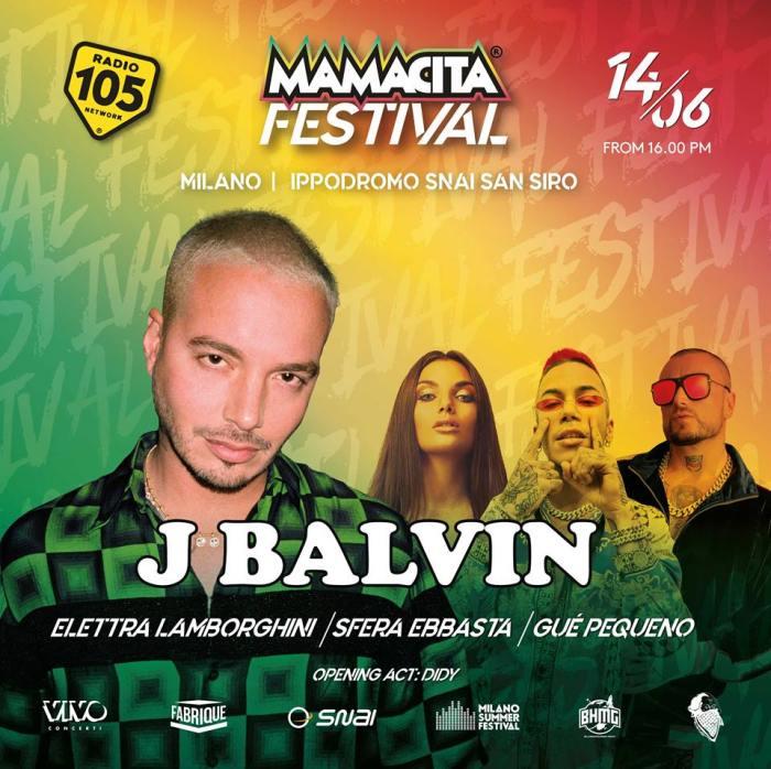 Elettra Lamborghini, Gué Pequeno e Sfera Ebbasta in concerto al Mamacita Festival