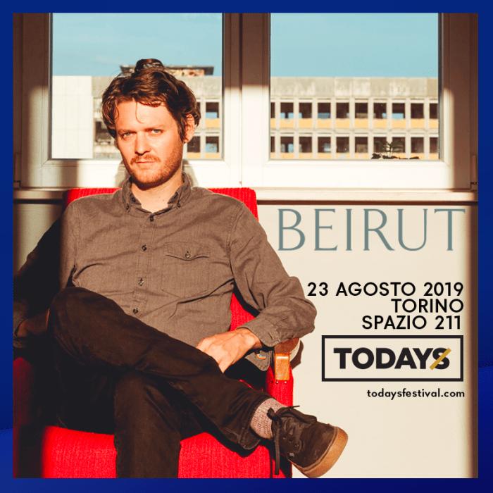 Beirut 23 agosto live al TOdays Festival di Torino