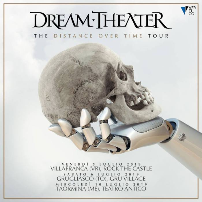Dream Theater a Grugliasco e Taormina a luglio
