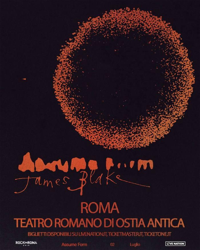 James Blake in concerto il 2 luglio al Teatro Romano di Ostia Antica per Rock In Roma