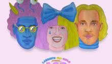 """Ascolta """"LSD"""" disco di Labrinth, SIA e Diplo"""