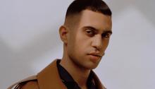 "Mahmood canta ""Soldi"" al party dell'Eurovision Song Contest a Londra"