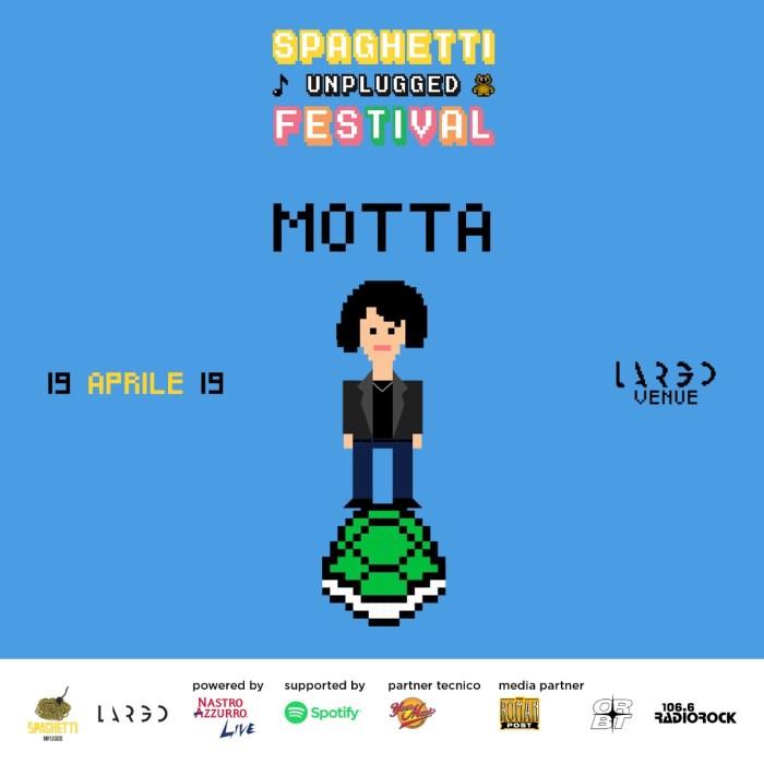 Motta è lo special guest dello SPaghetti Unplugged festival a Largo venue venerdì 19 aprile