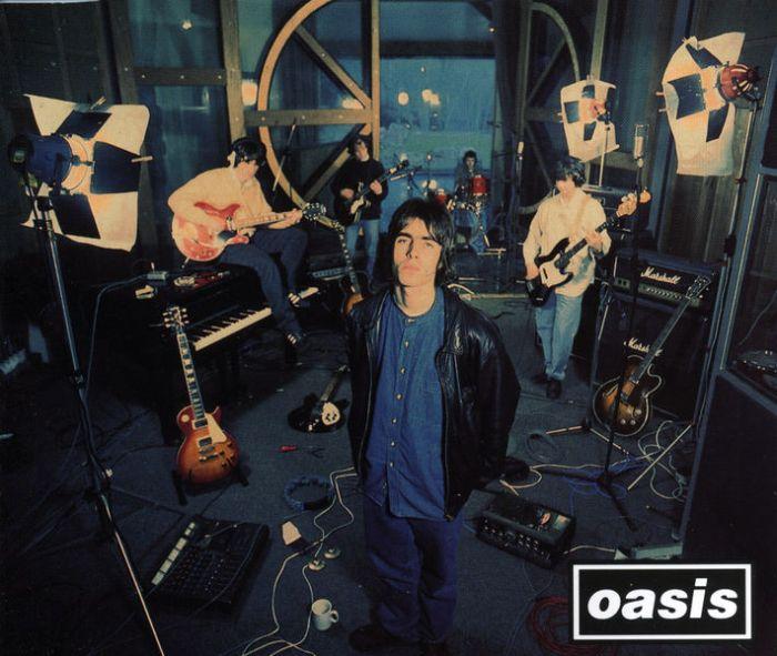 """copertina singolo """"Supersonic"""" Oasis 25 anni 11 aprile 1994"""