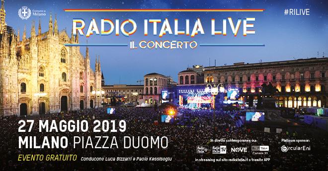 Radio italia Live il concerto il 27 maggio in Piazza Duomo a Milano: ecco il cast e c'è anche Sting