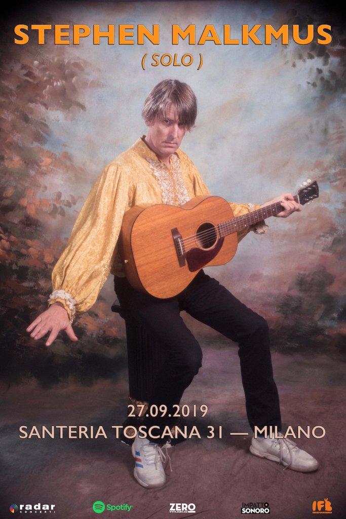 Stephen Malkmus in concerto il 27 settembre alla Santeria Toscana 31 di Milano