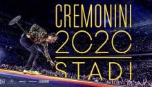 Cesare Cremonini in tour negli stadi nel 2020