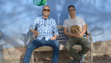 Howe Gelb e M. Ward sul palco dell'Hana-Bi di Marina di Ravenna il 24 luglio