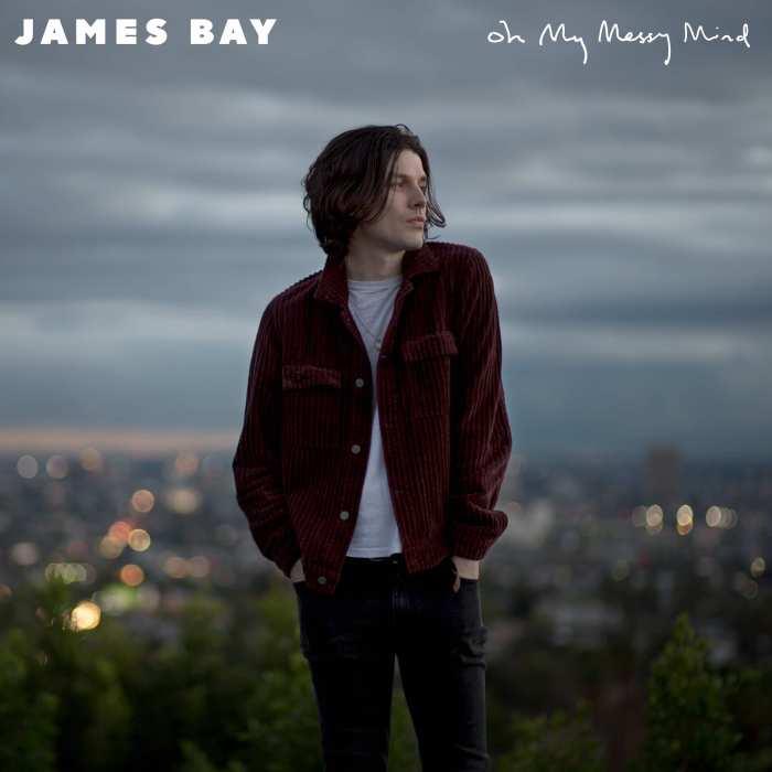 "copertina EP ""Oh My Messy mind"" di James Bay"