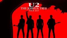 """The Joshua Tree Tour"" degli U2 raddoppia a Auckland e Sydney"