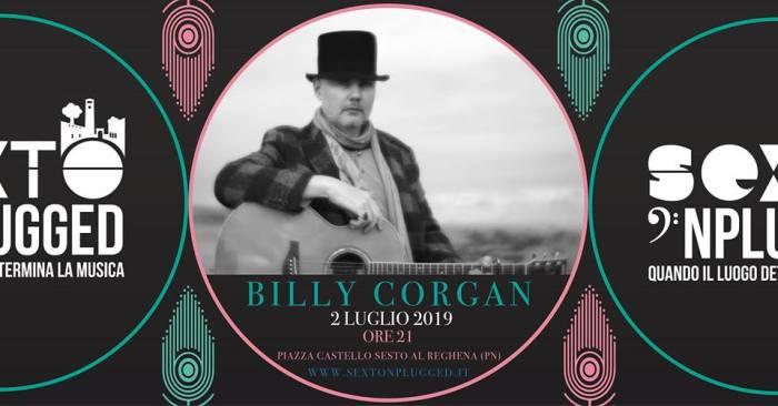 Vinci 2 biglietti per Billy Corgan al Sexto 'Nplugged martedì 2 luglio