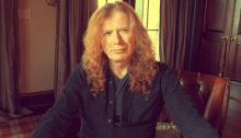 Dave Mustaine frontman dei Megadeth ha un cancro alla gola
