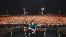 "Ed Sheeran ha cantato in italiano ""Perfect"" al Firenze Rocks davanti a 65.000 persone"