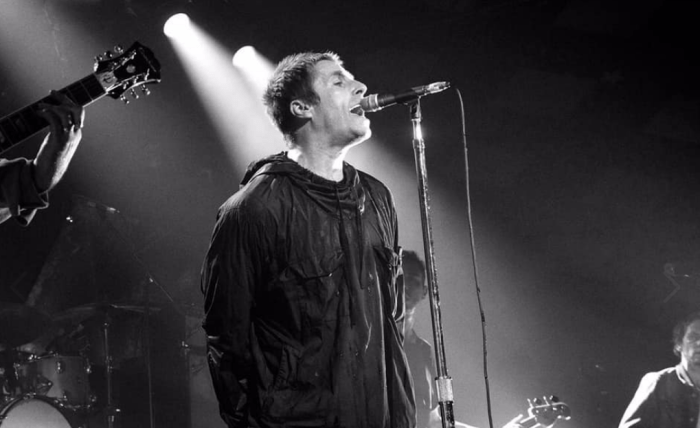 "Liam Gallagher presenta dal vivo a Londra il nuovo singolo ""Shockwave"""
