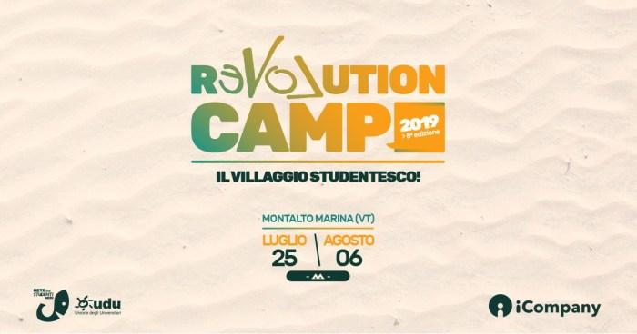 Revolution Camp 2019 dal 25 luglio al 6 agosto con Eugenio In Via Di Gioia, La Rappresentante di Lista, Sorrowland, FASK e altri