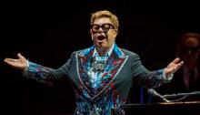 """Elton John dal vivo alle Mura Storiche di Lucca per il """"Farewell Yellow Brick Road"""""""
