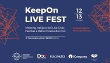 KeepOn Live Fest 12 e 13 settembre a Na Cosetta/Snodo a Roma