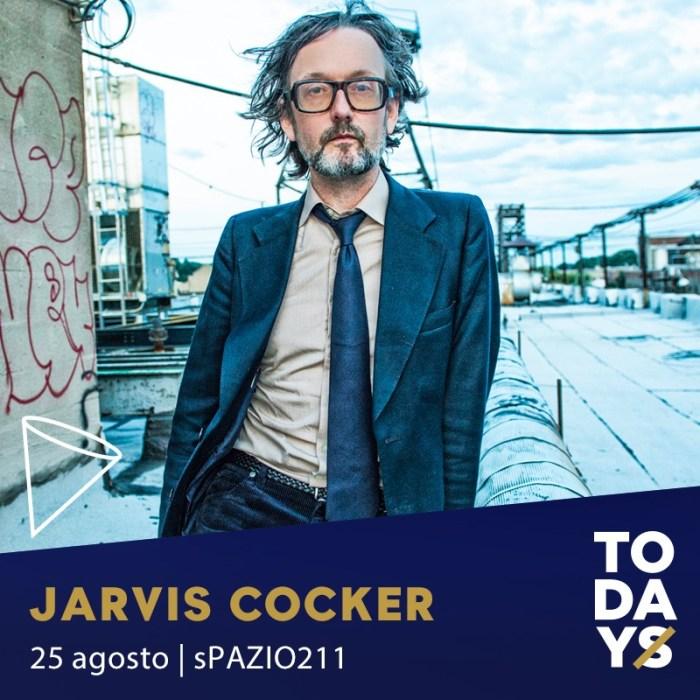 Jarvis Cocker al TOdays di Torino 25 agosto